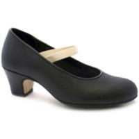 Chaussures Femme Escarpins Danka Flamenco talon de la chaussure de danse negro