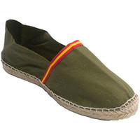 Chaussures Espadrilles Made In Spain 1940 Sandales de chanvre avec le drapeau de l blanco