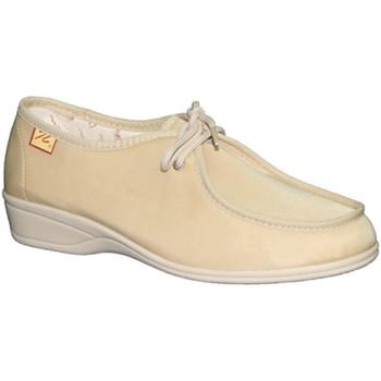 Chaussures Femme Derbies Doctor Cutillas  Lacets de chaussures pieds délicats Do beige