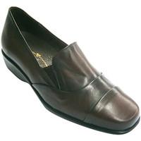 Chaussures Femme Mocassins Pomares Vazquez Chaussures femme avec une grande pelle a burdeos