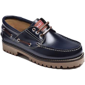 Chaussures Homme Chaussures bateau Edward's Seule la peau nautique de graisse Edward azul