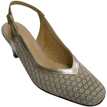 Chaussures Femme Escarpins Pomares Vazquez bride Open chaussure dos femme chaussure beige