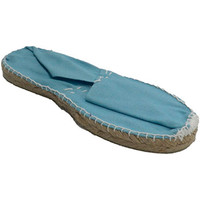 Chaussures Espadrilles Made In Spain 1940 Alpargatas plat Esparto Made in Spain en azul