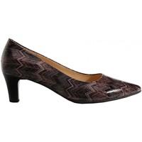Chaussures Femme Escarpins Gabor Escarpins cuir lisse Marron