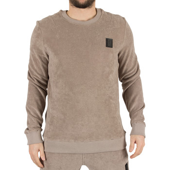 Vêtements Homme Pulls Religion Homme Piscine Loopback Terry Logo Sweatshirt, Marron marron