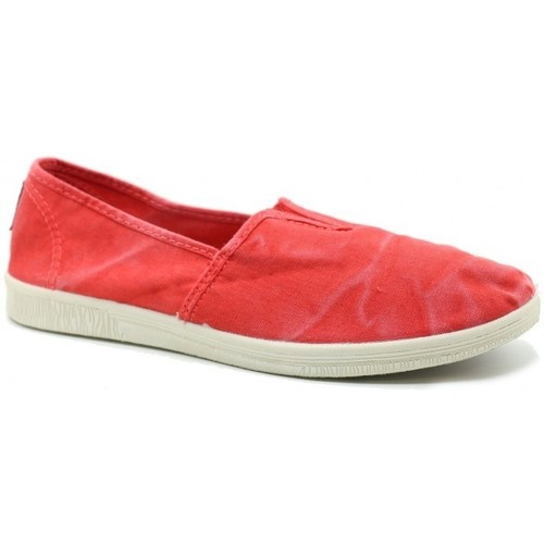 Chaussures Femme Baskets basses Natural World 615E rouge