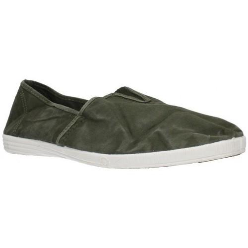 Chaussures Homme Slip ons Natural World 305E vert
