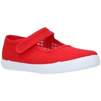 Chaussures Fille Sandales et Nu-pieds V-n Toile rouge