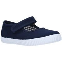 Chaussures Fille Sandales et Nu-pieds V-n Toile bleu