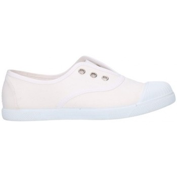 Chaussures Fille Baskets basses V-n 87701 Niña Blanco blanc