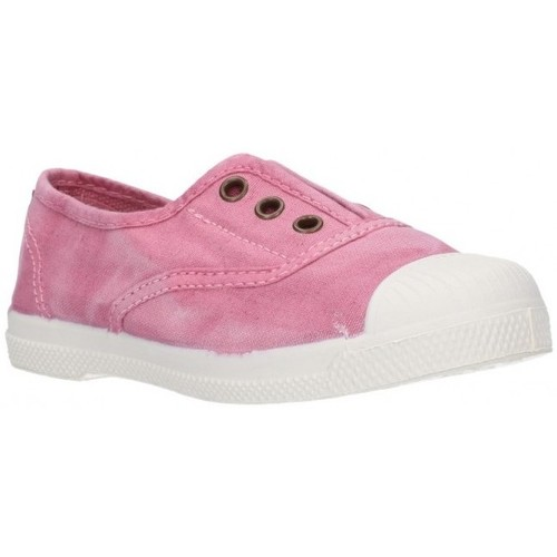 Chaussures Fille Slip ons Natural World 470E - Rosa rose