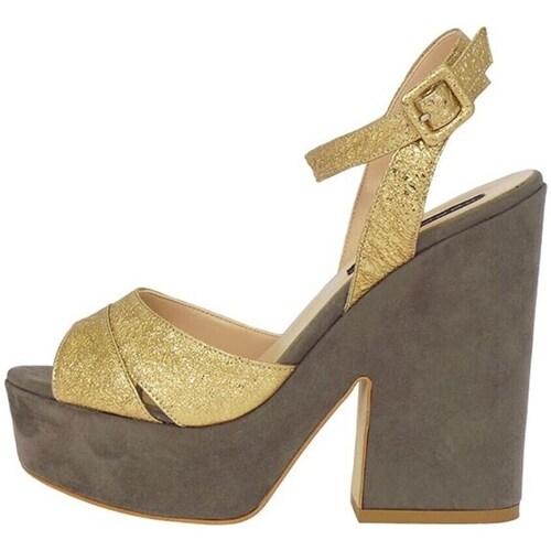 Chaussures Femme Sandales et Nu-pieds Silvana 730/t90 Doré