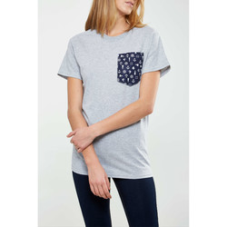 Vêtements Homme T-shirts manches courtes Pocket2-d2 Tee Shirt  Nautical Gris Femme Gris