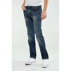 Vêtements Femme Jeans slim Money Jeans  Red Selvedge Slim Bleu Delave Homme Bleu