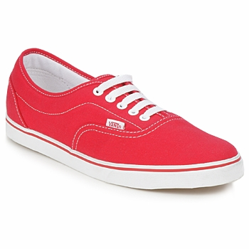 vans authentic rouge 39