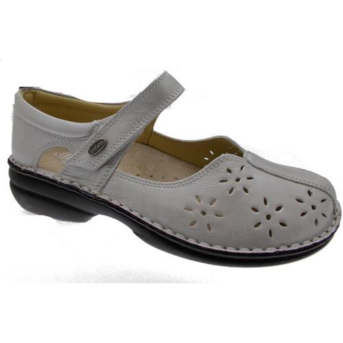 Loren LOM2313av grigio - Chaussures Ballerines Femme