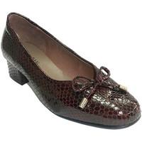 Chaussures Femme Mocassins Roldán cuir femme brevet type de chaussure simu burdeos