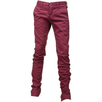 Vêtements Garçon Chinos / Carrots Teddy Smith Chino Boy Stret 60104163d Rouge