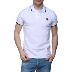Vêtements Homme Polos manches courtes Redskins Apolon Bridge E17 White Blanc