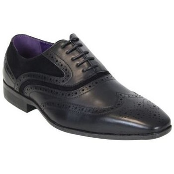 Chaussures Homme Derbies Kebello Chaussures ELO580 noir