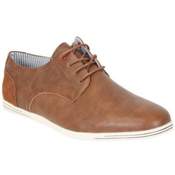 Chaussures Homme Derbies Kebello Baskets X008 beige