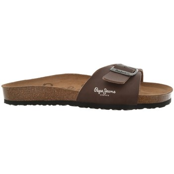 Chaussures Homme Tongs Pepe jeans tongs  bio marron marron