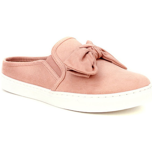 Cendriyon Baskets Rose Chaussures Femme Rose - Chaussures Slip ons Femme 1600