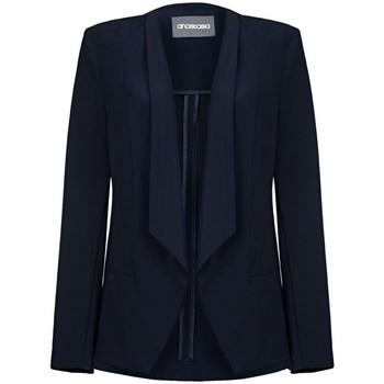 Vêtements Femme Vestes / Blazers Anastasia -Femme Marine Bleu Sans doublure Waterfall Veste Blue