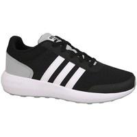 Chaussures Enfant Running / trail adidas Originals Cblackftwwhtnix Cloudfoam Race Blanc-Noir