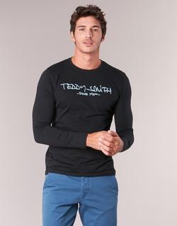 Vêtements Homme T-shirts manches longues Teddy Smith TICLASS 3 ML Noir