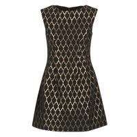 Vêtements Femme Robes courtes Molly Bracken DIRCO Noir / Doré