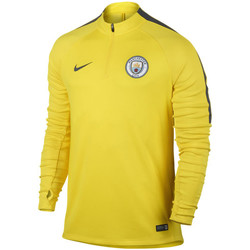Vêtements Homme T-shirts manches courtes Nike Manchester City drill top Opti Yellow / Anthracite