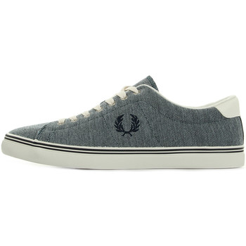 Chaussures Homme Baskets mode Fred Perry Underspin Oxford Pique Navy bleu