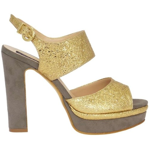 Chaussures Femme Sandales et Nu-pieds Silvana 769 Doré