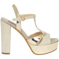 Chaussures Femme Sandales et Nu-pieds Silvana 709 Sandale Femme platine platine