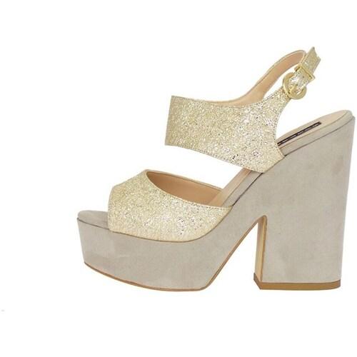 Silvana 769/t90 Sandale Femme Beige Beige - Chaussures Sandale Femme