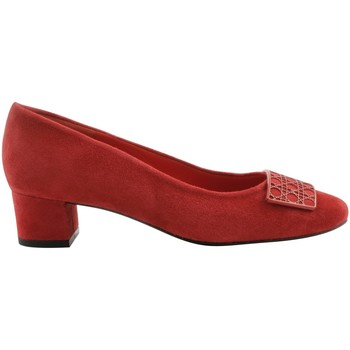 Chaussures Femme Escarpins Exclusif Paris Escarpins Opera Rose rouge