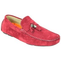 Chaussures Homme Mocassins Kebello Mocassins DD0011 rouge