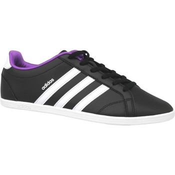 Chaussures Femme Baskets mode adidas Originals Vs Coneo Qt W B74551 Blanc,Noir