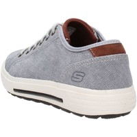 Chaussures Homme Baskets basses Skechers 64935 Sneakers Homme Gris Gris