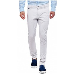 Vêtements Homme Pantalons 5 poches Guess Pantalon Daniel Superskinny Gris clair Gris