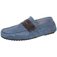 Chaussures Homme Mocassins Guess Mocassins  ref_guess40711-denim Bleu