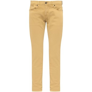 Vêtements Homme Jeans droit Gentleman Farmer Jean regular Peter blue stone wash Jaune