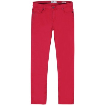 Vêtements Homme Jeans droit Gentleman Farmer Jean Peter Rouge