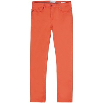 Vêtements Homme Jeans droit Gentleman Farmer Jean Peter Orange