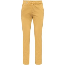 Vêtements Homme Pantalons 5 poches Gentleman Farmer Chino Phil Jaune