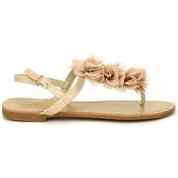 Chaussures Femme Tongs Cendriyon Tongs Beige Chaussures Femme, Beige