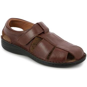 Chaussures Homme Sandales et Nu-pieds Grunland SANDALO MAN P. CIOCCOLATO