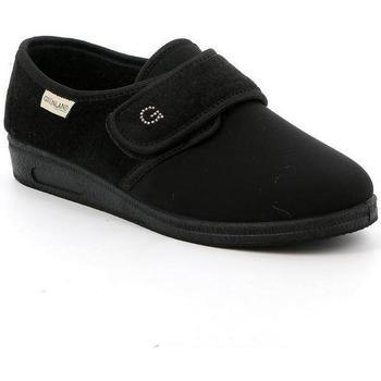 Chaussures Femme Chaussons Grunland Slipper FEMME NERO