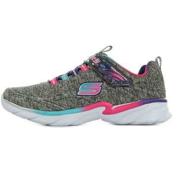 Chaussures Fille Baskets mode Skechers Shimmer Time gris